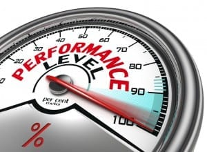 performance level meter