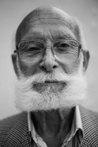 Old Man with gray beard