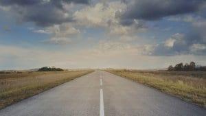 Empty Highway Road
